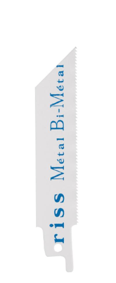 Bi Métal fraisée, avoyée  dents 1,4mm Lu=80mm  queue Bosch